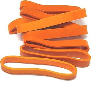 IMPRINT 9 MM 宽 橙色 9 厘米长 尼龙橡皮筋 大,*和厚橡皮筋 15 条装