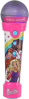 Barbie Barbie 手持卡拉 OK 机 | 儿童青少年趣味卡拉 OK 麦克风,梦幻女孩玩具,智能手机和 MP3 麦克风,内置 AUX 电缆