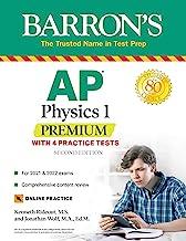 AP Physics 1 Premium: With 4 Practice Tests (Barron's Test Prep) (English Edition)