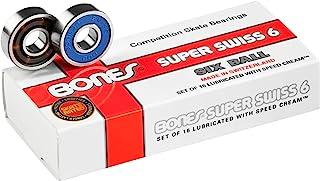 Bonones Beararings 瑞士六球滑板轴承(8 毫米,16 件装)