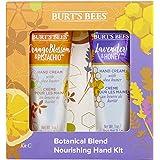 Burt's Bees 伯特的小蜜蜂植物混合滋养 2件套手霜,薰衣草和蜂蜜28.3克,1朵橙花和开心果手霜28.3克