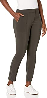 Briggs New York 女式 Pantformance Sleek Tech 前门襟裤,带口袋