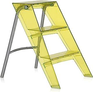 Kartell Step 折叠梯 黄色 W46/D58/H60cm 上部 SFAC-K7030-73