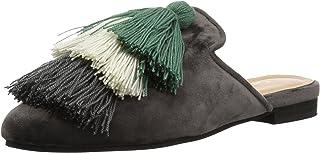 KAANAS Mompox Velvet Mule Slide 流苏平底鞋