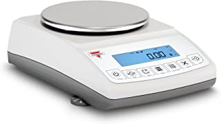 Torbal ATN2100 10 毫克可读性超紧凑设计电池供电内置 USB 入门级实验室级平衡,2100 克 x 0.01 克,白色