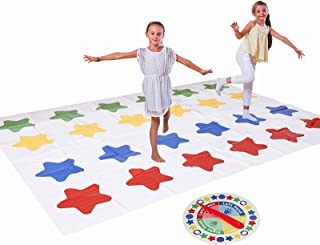 地板游戏,派对游戏,更大的垫子适合 2 位及以上玩家,室内和室外游戏适合 6 岁及以上的儿童..