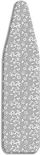 Whitmor 6149-100 Ironing Board Cover and Pad, Grey Swirl
