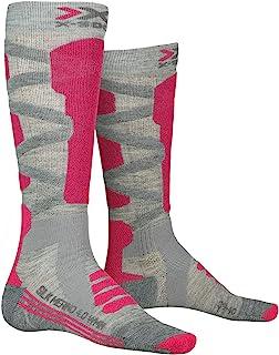 X-Socks 女士滑雪丝绸美利奴 4.0 短袜