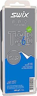 TS06B-18 - *速度蜡 - TS6B 黑色 - 脏雪 - 10 至 -15 ℉ - 180 克棒 - 无氟 - FIS 认证