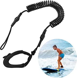 ''N/A'' 冲浪板牵引带,9 英尺冲浪站立桨板 SUP 牵引带,卷绕弹簧腿脚绳冲浪皮带