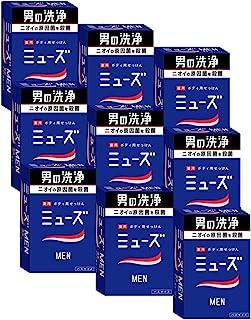 [批量购买] [Muse] Men男士 香皂 135克×9个