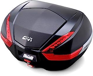 GIVI 摩托车用 后盒 47L 未涂装黑色(碳素面板) 红色镜片 单钥匙包 V47NN 92471