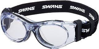 SWANS 护目镜 SVS-700N 6岁~10岁 黑色×透明 运动眼镜框