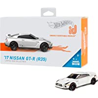 Hot Wheels id 2017 Nissan GT-R (R35) 汽车模型