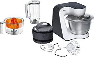 Bosch MUM50123 食品加工器 紧凑 Orange, Silber, Transparent, Weiß MUM50123