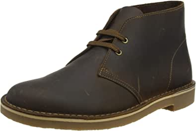 Clarks 男士Bushacre 3 Chukka沙漠靴