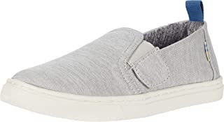 TOMS 女婴 Luca(幼儿/小童) Drizzle Grey Repreve Melange Knit 5 Toddler