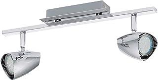 Eglo Corbera 壁灯/天花板灯钢 GU10 3 W 镀铬天花板灯 2 浅镀铬