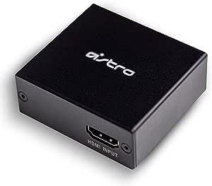 Astro HDMI 适配器,适用于 PS5,提供完美的游戏聊天平衡,音频提取器 4K HDMI 到 Optical Spdif Toslink 兼容A50 基站,MixAmp Pro TR,A20 游戏耳机在游戏机5