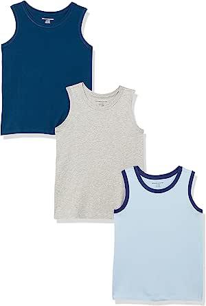 Amazon Essentials 男孩背心 3 件装