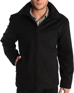 Alpine swiss Grant 男士羊毛 71.12 厘米 JD 拉链前开襟夹克