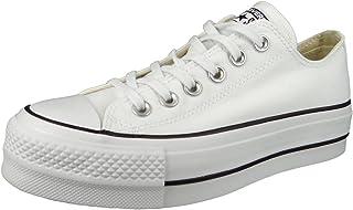 Converse 匡威女式 Chuck Taylor 全明星金属防水台低帮运动鞋