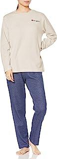 [Champion] 家居服 长袖上衣 长裤 双面针织 女款