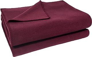 柔软羊毛毯 - 鳄鱼纹羊毛毯 - 绒毛毯 160 x 200 厘米 - 390 *红色 - 1828 年至今