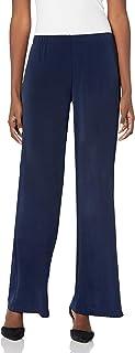 A. Byer 女式柔软针织阔腿裤(小码、标准码和加大码)