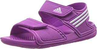 adidas 阿迪达斯 Akwah 9 中性儿童沙滩泳池鞋