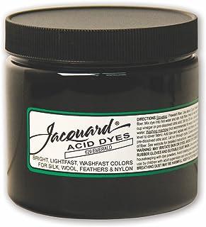 用于羊毛、丝绸和其他蛋白质纤维的提花酸染料,8盎司罐装,浓缩粉末,祖母绿 629