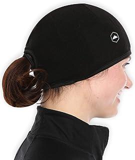 Tough Headwear 头盔衬垫骷髅帽 无檐小便帽 带耳罩。 终极保暖性能,吸湿排汗。 适合 Under Helmets