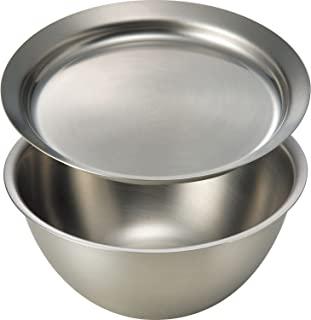 ラバーゼ(La Base) 燕三条 有本洋子 不锈钢碗和盘子 DME-6750 小 2件套日本制造