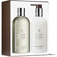 Molton Brown Serene 椰子& 檀香 沐浴和身体护理礼品套装 (2 x 300ml)