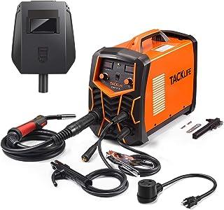 TACKLIFE 电焊机 MIG/MMA 焊机 20A-140A 带数字显示,先进的 IGBT 逆变技术,电极支架,工作夹,多功能可调焊接电流和电压