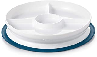 OXO TOT 粘扣碗和餐盘 *蓝 Suction Divided Plate