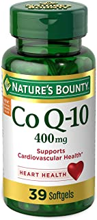 NATURE'S BOUNTRY 自然之宝 Cardio Q10, Co Q-10 400 mg 39 粒胶囊
