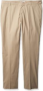 Dickies 女士加大码抗皱无褶无褶斜纹长裤,易去污处理