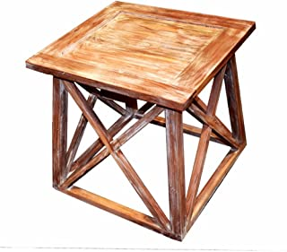 Benzara 传统风格实木桌,棕色桌