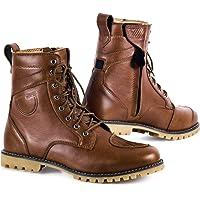 SHIMA Thomson 男士摩托车鞋,摩托车靴,短款,皮革