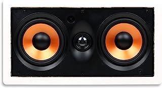 Micca M-8S 8英寸(约20.3厘米)双声道 墙壁安装式扬声器 带旋转1英寸(约2.5厘米)丝质球型高音单元