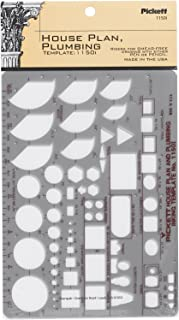 Pickett 等轴测六角螺母和头模板 5 House Plan and Plumbing 绿色