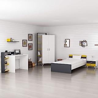 Bonamaison 年轻房间套装白色煤黑色深灰色,客厅,卧室,厨房,办公室 - 在土耳其设计和制造