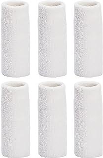 Unique Sports 6 英寸长手腕毛巾腕带(6 只装)