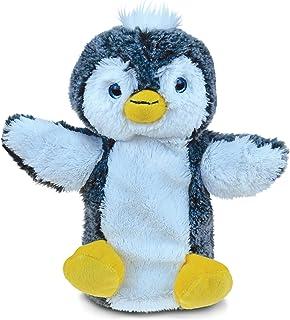 Puzzled Penguin 超软填充毛绒木偶可爱动物玩具 - 动物/鸟/海洋主题 - 22.86 厘米 - 独特令人想拥抱的新朋友礼物 - 商品#5797