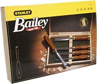 "Stanley 2-16-217""Bailey"" Chisel-套装,银色/棕色,5 件套"
