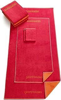 Bassetti 洗澡手套,棉,珊瑚色,16x22