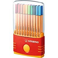 STABILO 思笔乐 8820-031 乐点88纤维水笔20色套装