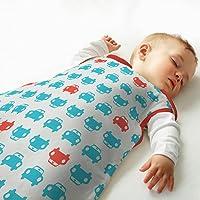 英国 Grobag SimplyGro(升级版) 婴儿睡袋 红蓝汽车 2.5托格 (18-36个月) AAE4284