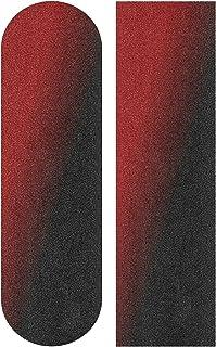Wudan 滑板防滑带 33 x 9 英寸(约 83.8 x 22.9 厘米)蓝色*无气泡防水滑板防滑带,长板胶带,滚轮砂纸